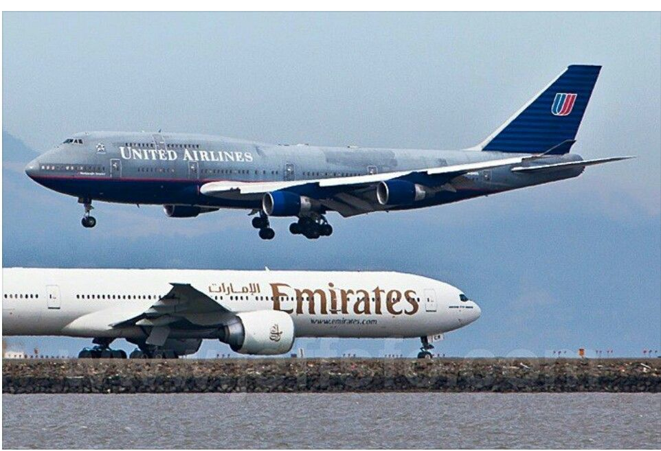 United Airlines B747 San Francisco United Airlines Commercial Aircraft The Unit