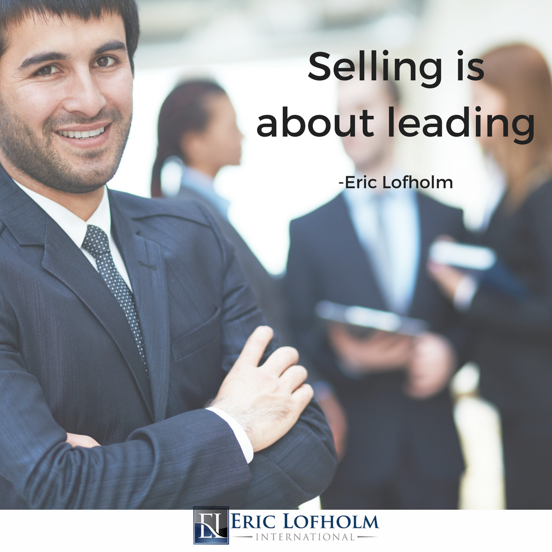 Are you leading your prospects or are you letting them lead you?
