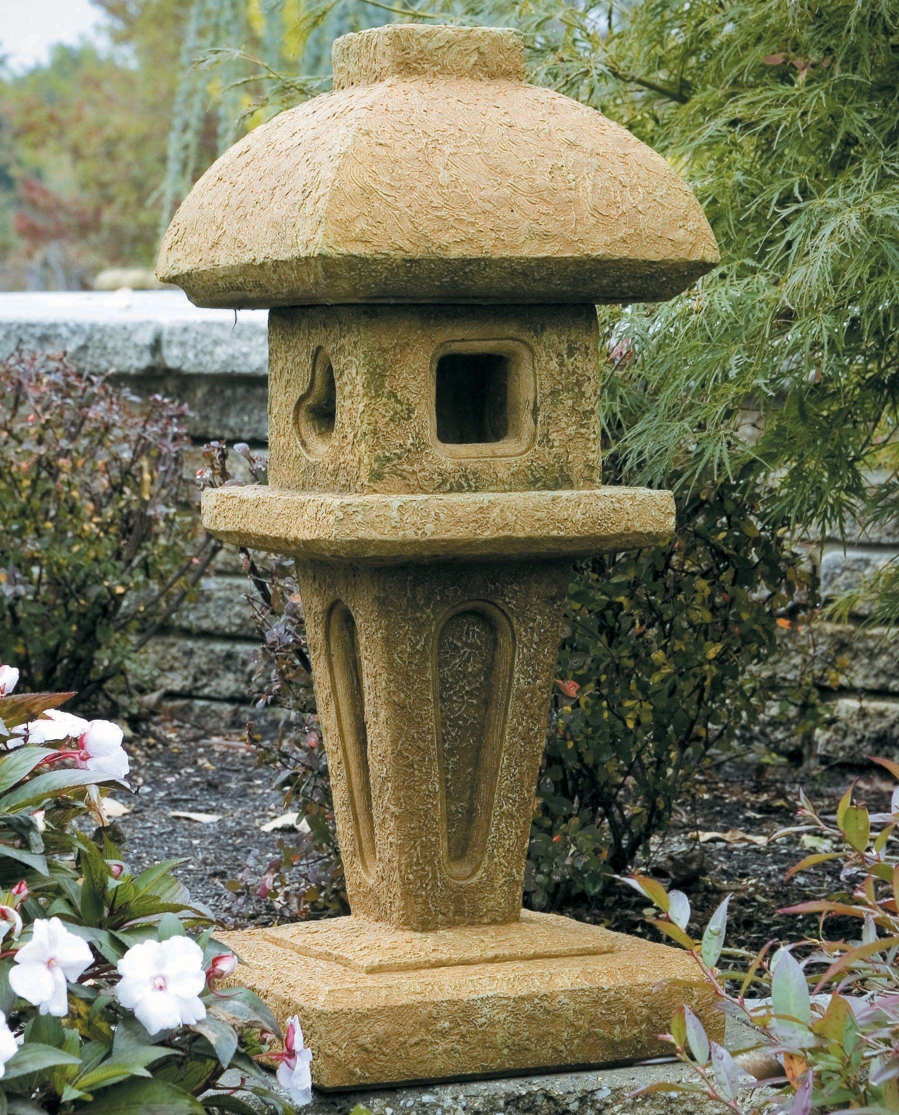 Jasmine Stone Pagoda Stone, Garden ornaments, Easy paintings
