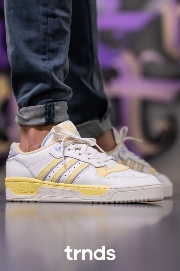 Adidas Rivalry Low Cloud WhiteOff White Easy Yellow for Men