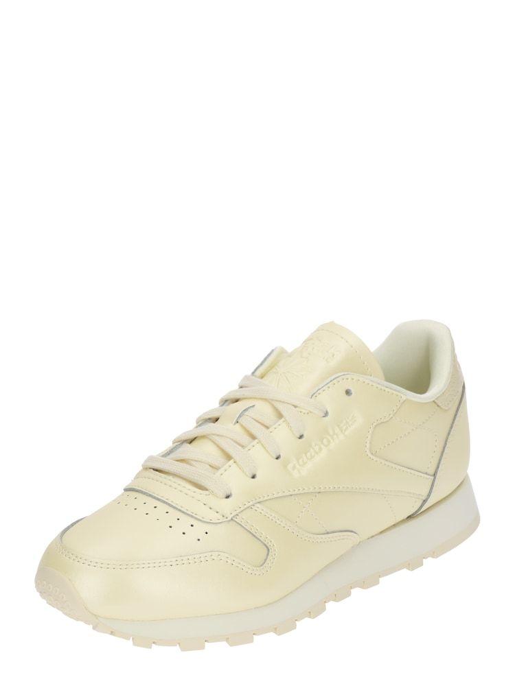 Reebok Classic Sneaker Damen, Hellgelb, Größe 3939.5 in