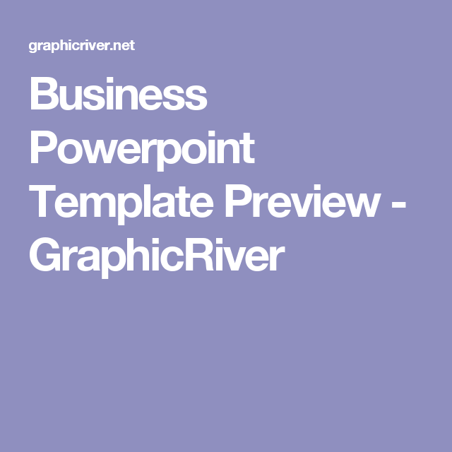 business powerpoint template preview - graphicriver | presentation, Modern powerpoint