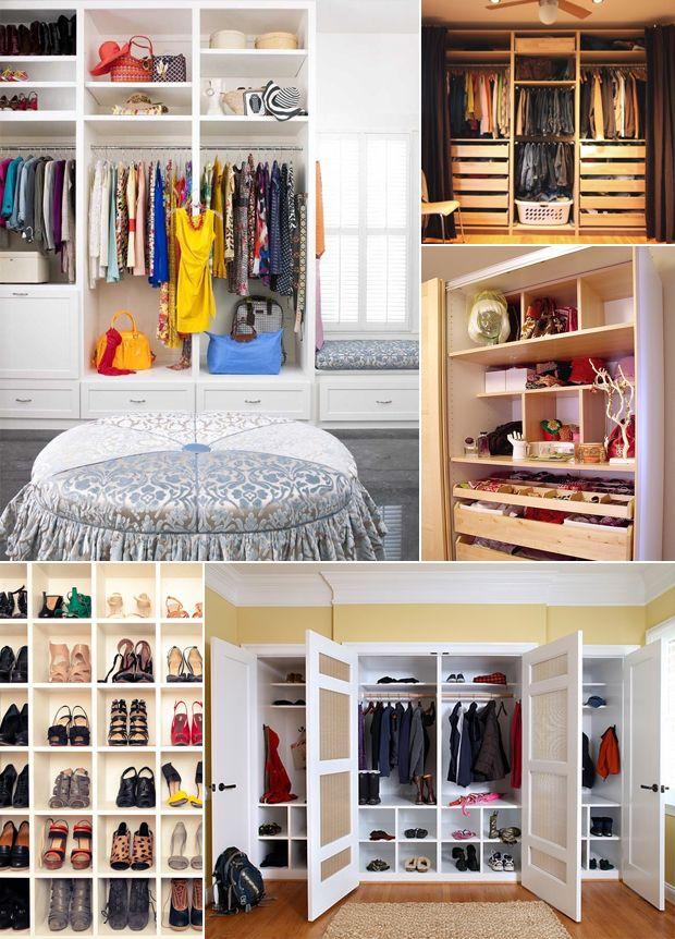 Closet organization cute co organized closet - Cute ways to organize your bedroom ...