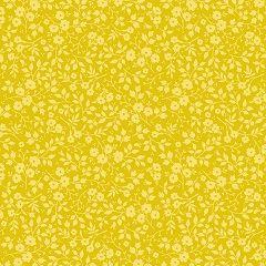 Eijffinger Pip Behang.Eijffinger Pip Behang Met Gele Klein Bloemetjes Wallpaper Geel