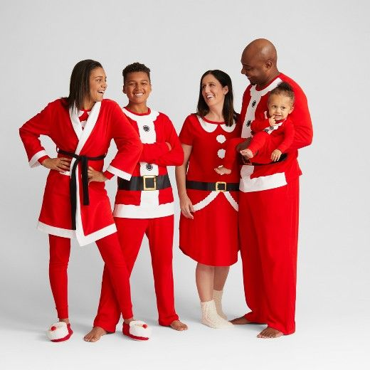 29bf72cab1 ... to your child s winter with this fun Santa Robe from Wondershop™. This  adorable kids  loungewear option is part of the Santa Family Pajamas  Collection