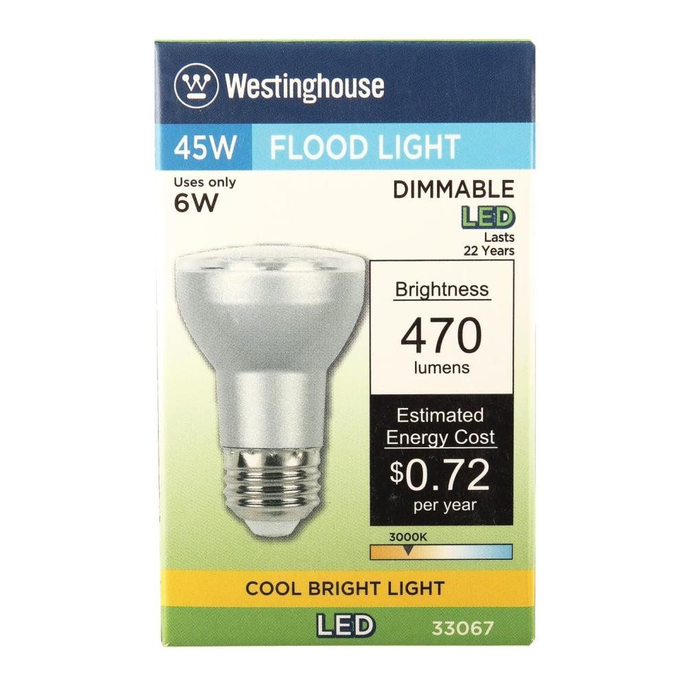 Westinghouse 3306720 45w Equivalent Par16 Flood Dimmable Cool Bright Led Light Bulb With Medium Base 6 Pack Click The Bright Led Lights Led Light Bulb Bulb