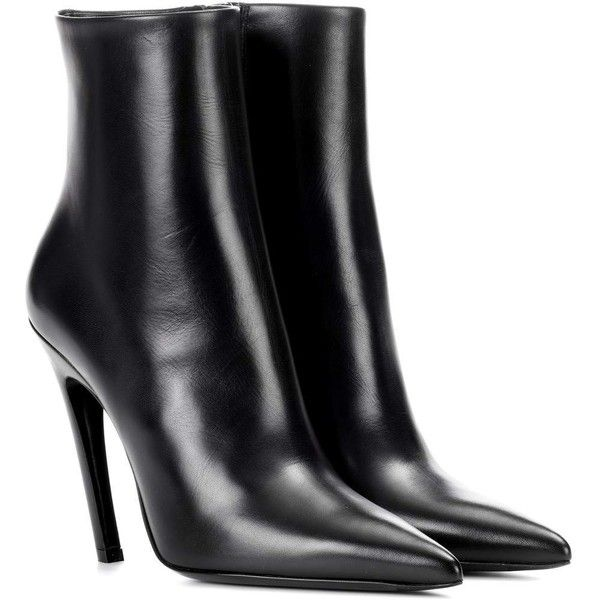 Balenciaga Knife Patent Leather Ankle Boots Gamt8Y