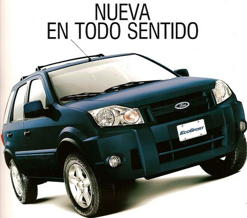 Ford Ecosport 2008 Ford Motors Venezuela Pinterest