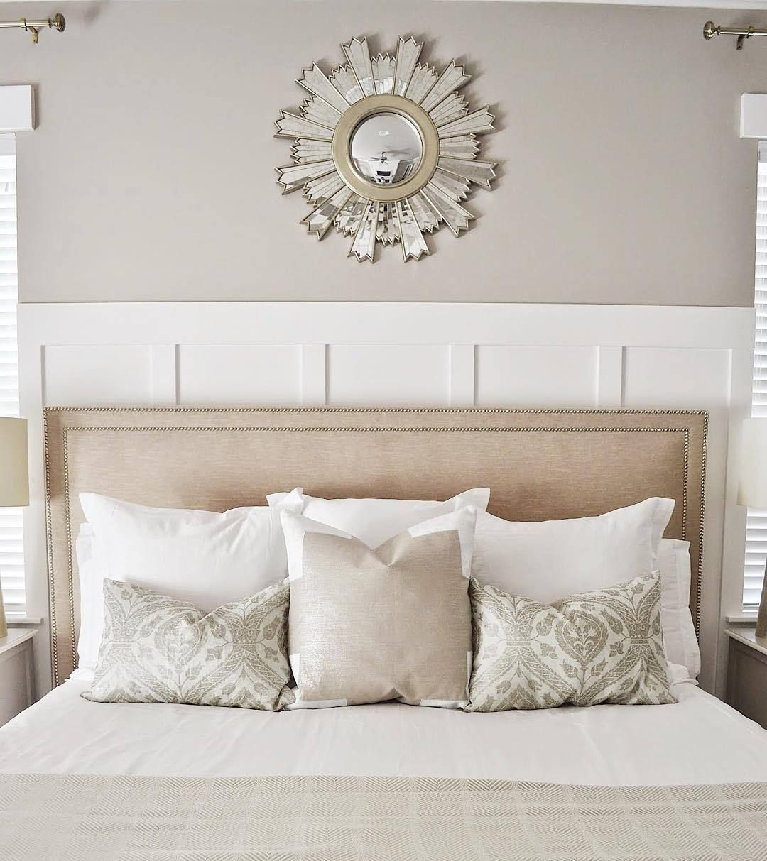 Sunburst Mirror Over Bed In 2019 Home Mirror Over Bed Sunburst