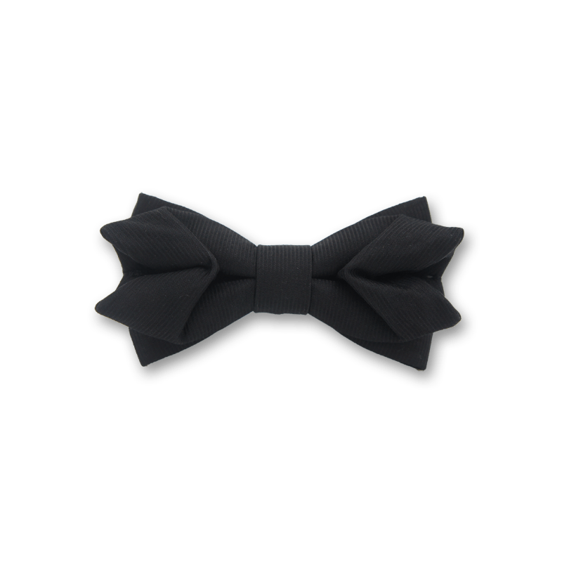 Wishing In Black Bow Tie Unique Bow Ties By Weixu Wang Unique Bow Tie Black Bow Tie Creative Black Tie