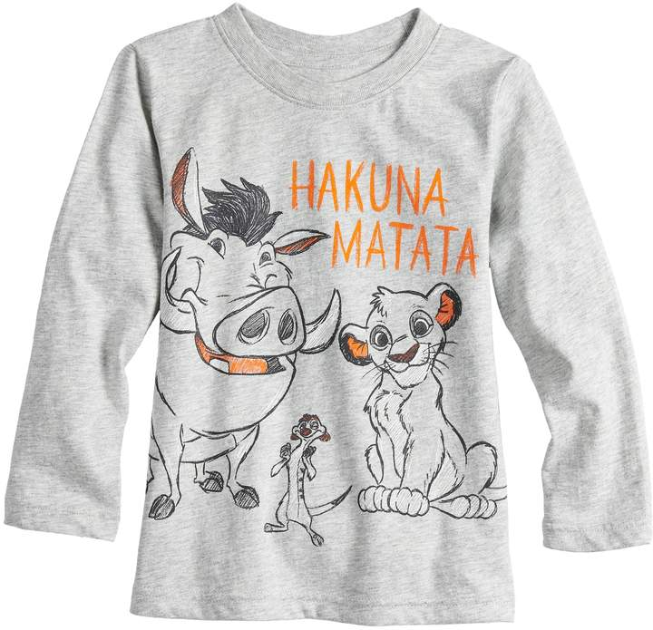 1c3d9fea5c8a Simba Disneyjumping Beans Disney's The Lion King Toddler Boy Timon, & Pumba Graphic  Tee by Jumping Beans