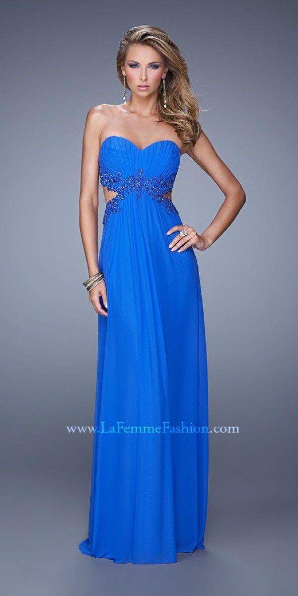 La Femme Formal Dress $286.99 Strapless Prom Dresses and Evening Dresses