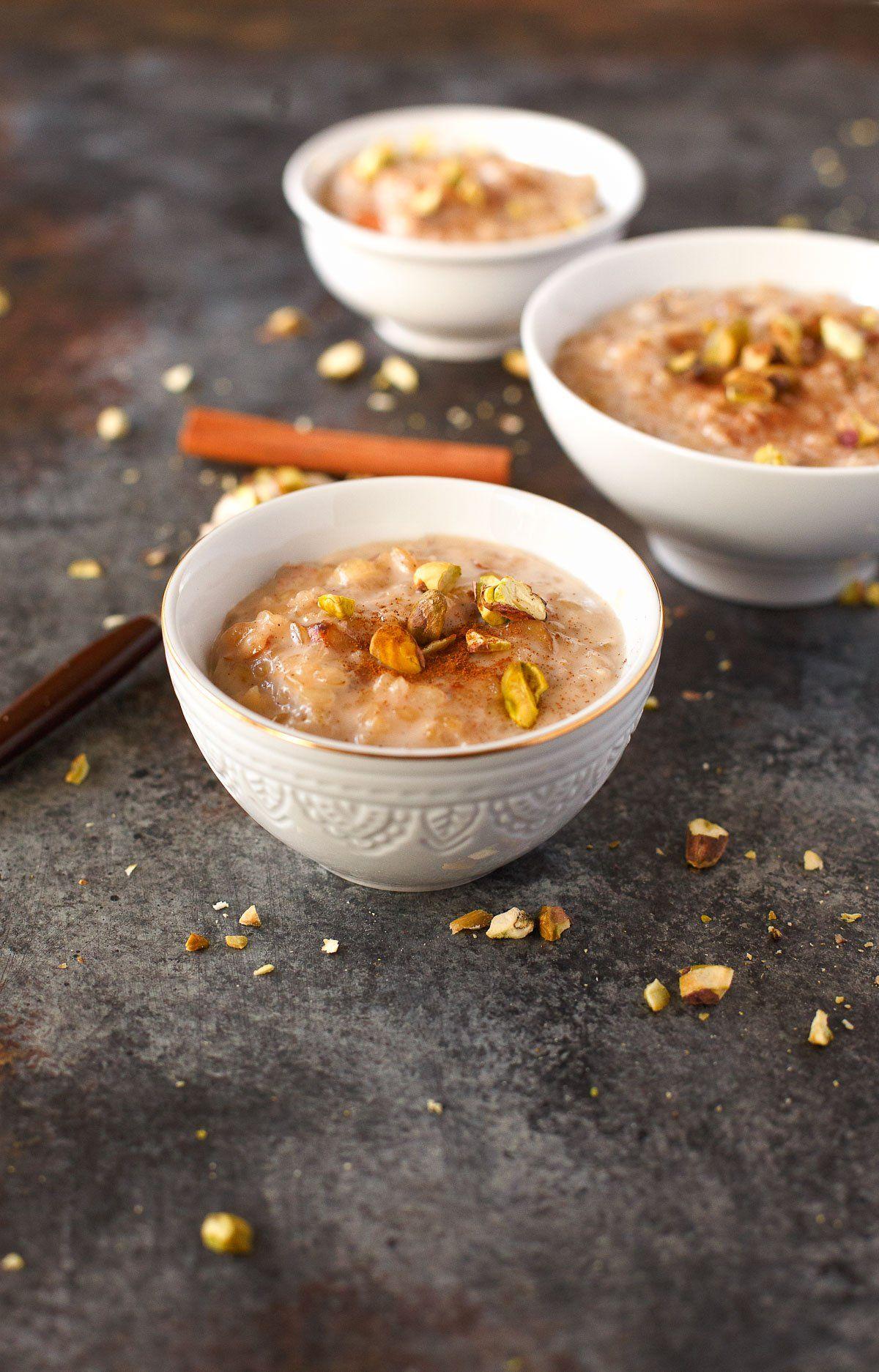 Indian Rice Pudding | Recipe | Indian rice pudding, Indian ...