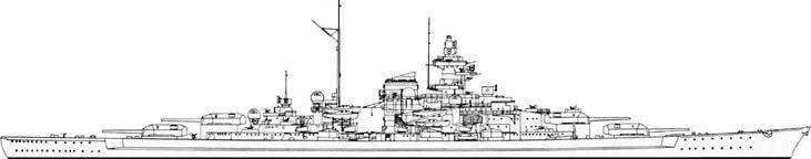 How To Draw Bismark Bismarck Battleship Battleship Bismarck