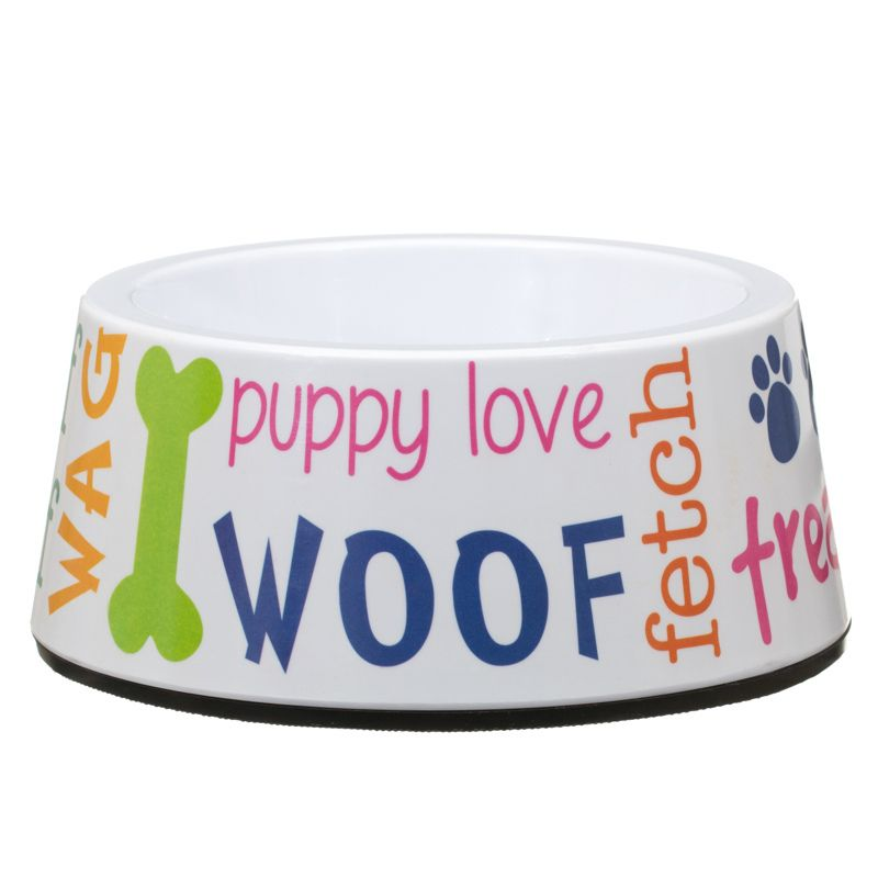 for your favourite pooch or puppy chunky food water bowl ideal