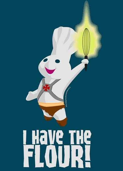 I Have The Flour By Daneault Funny Pictures Funny Images