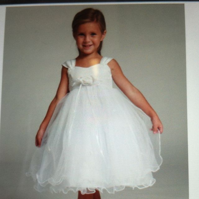 Flower girl dresses not flower and different color sash