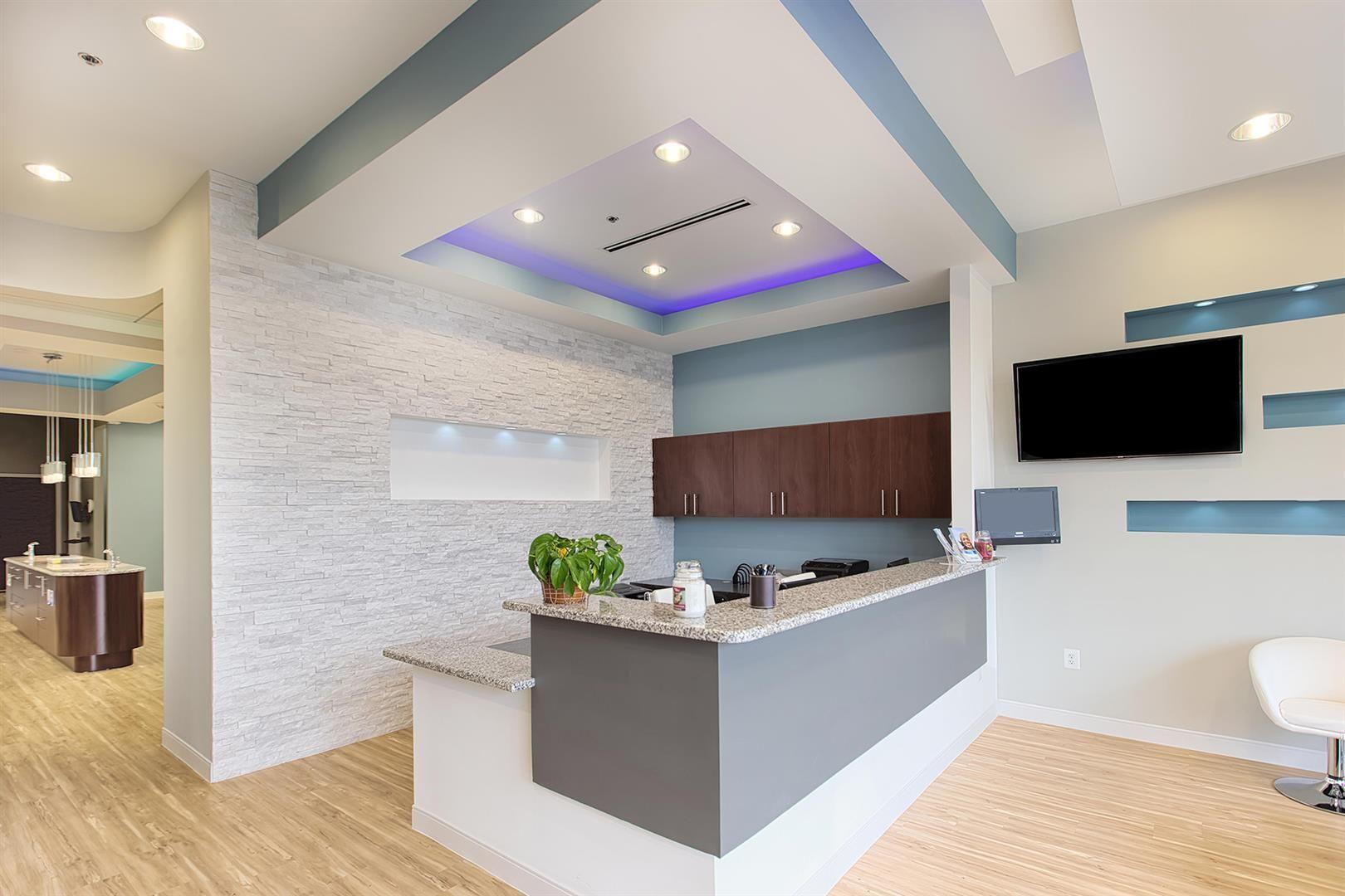 Modern Orthodontics Interior Design Portfolio Medical Office