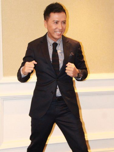 """""""Special ID"""" Press Conference and sharing session. Donnie Yen."""