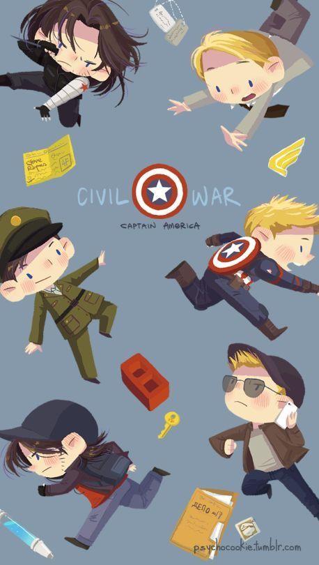 Captain America Civil War Marvel Avengers Dc Comics Funny Iphone