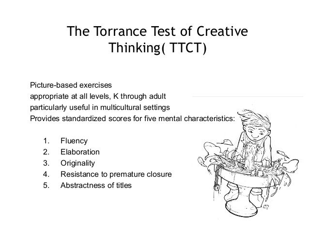 torrance test of creative thinking examples