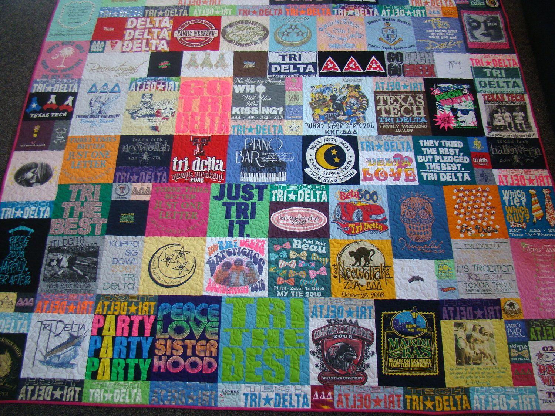 Custom Memory Tshirt Quilt No Money Down Quilts
