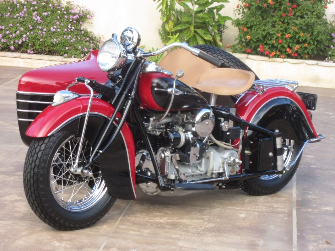 1941 Indian Four with Side Car Classic Driver Market