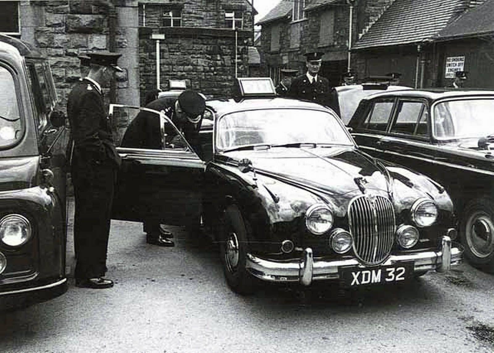 Classic British police cars, MK2 Jaguar British police
