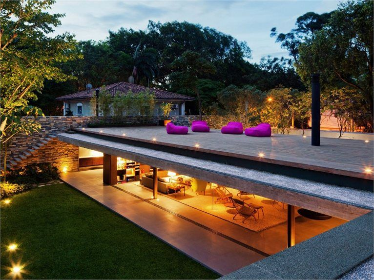 Casa V4 The House And Garden Designed By Marcio Kogan Building A Container Home Architecture House Terrace Design