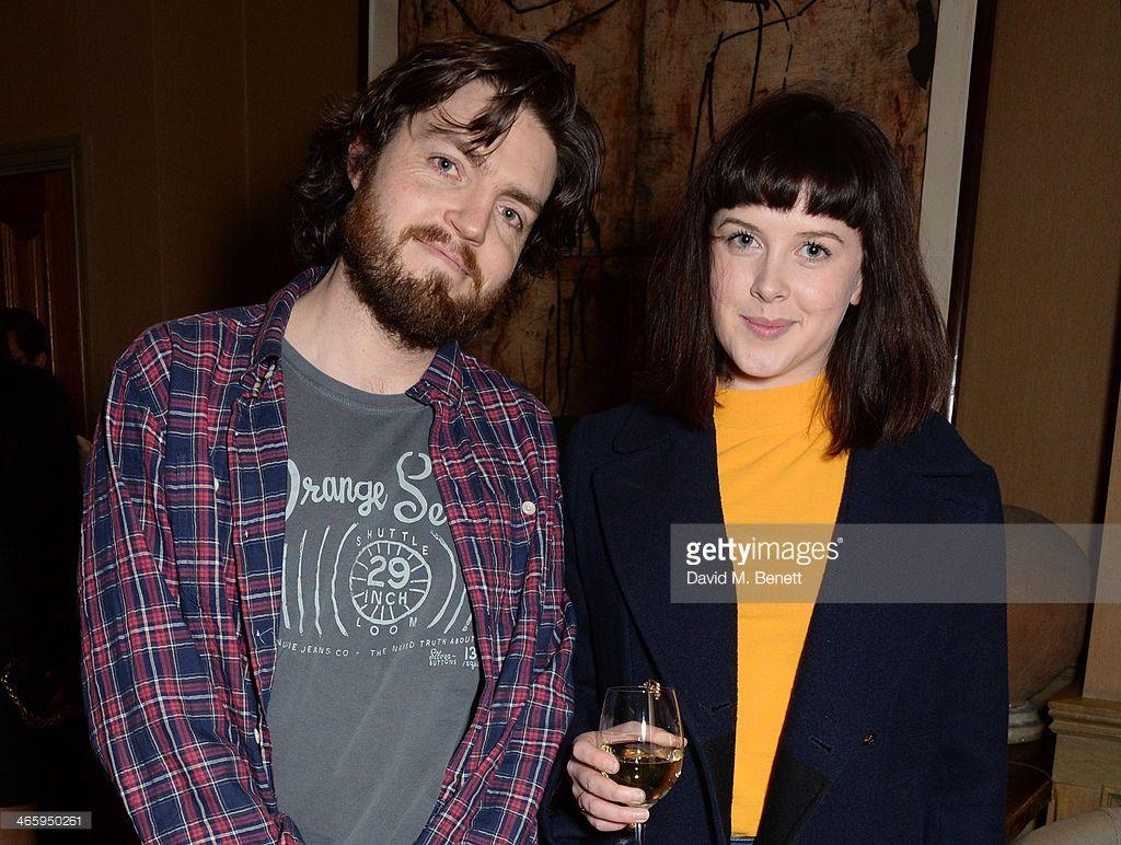 News Photo : Tom Burke and Alexandra Roach attend a drinks...