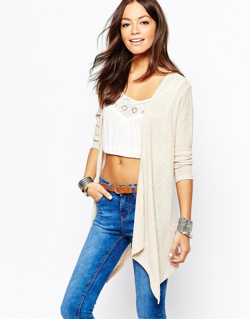 New Look Waterfall Cardigan | Back to University | Pinterest ...