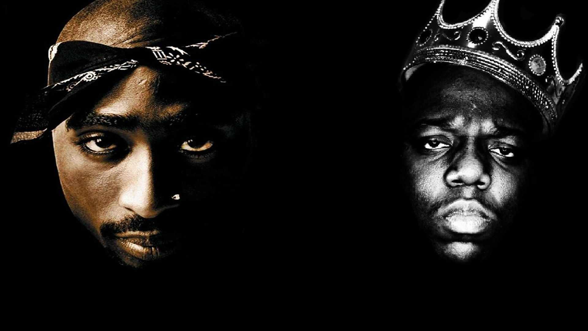 1920x1080 TUPAC BIGGIE SMALLS gangsta rapper rap hip hop f