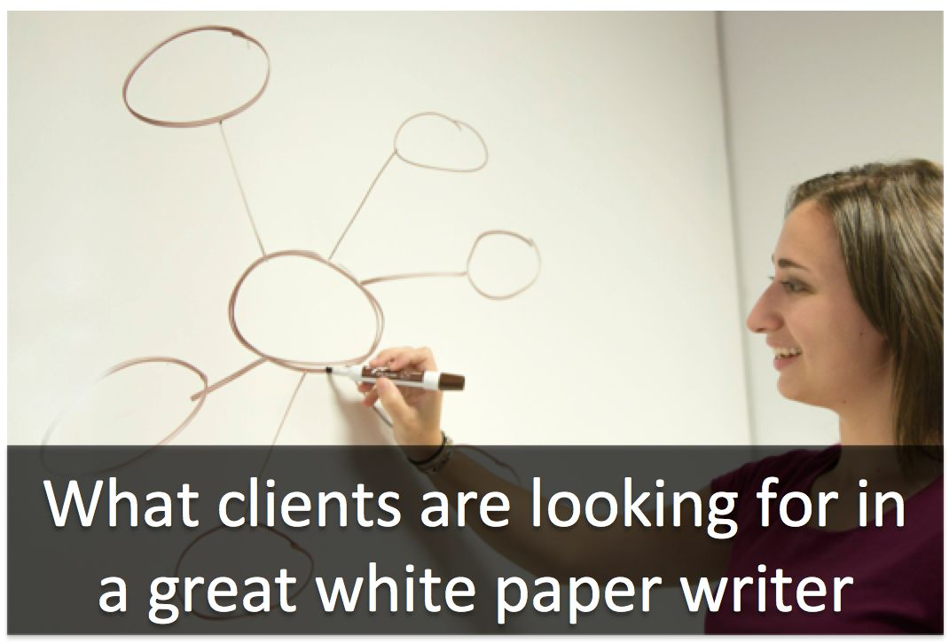 4 surprising things clients look for in a white paper