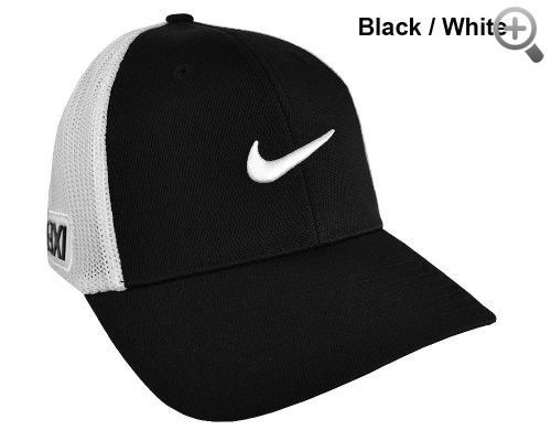 25f818d8363 Nike Golf 20XI Tour Flex Fit Hat Black White  Nike  Golf  20XI  Tour  Flex   Fit  Hat  Black White