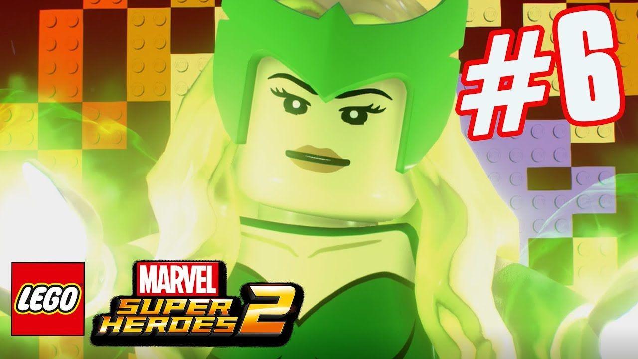 LEGO Marvel Superheroes 2 - Part 6 - Enchantress's Tricks
