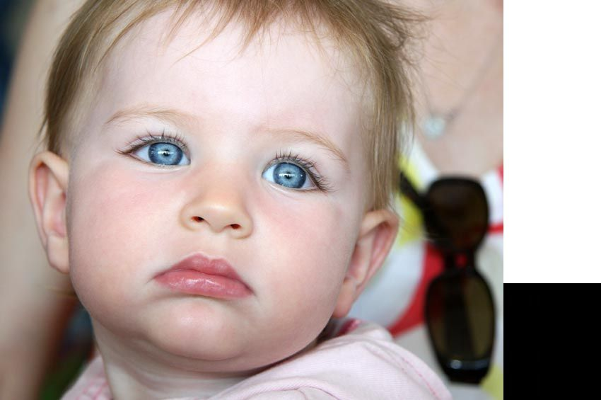 Beautiful Baby Girl with Blue Eyes - find a unusual name ...