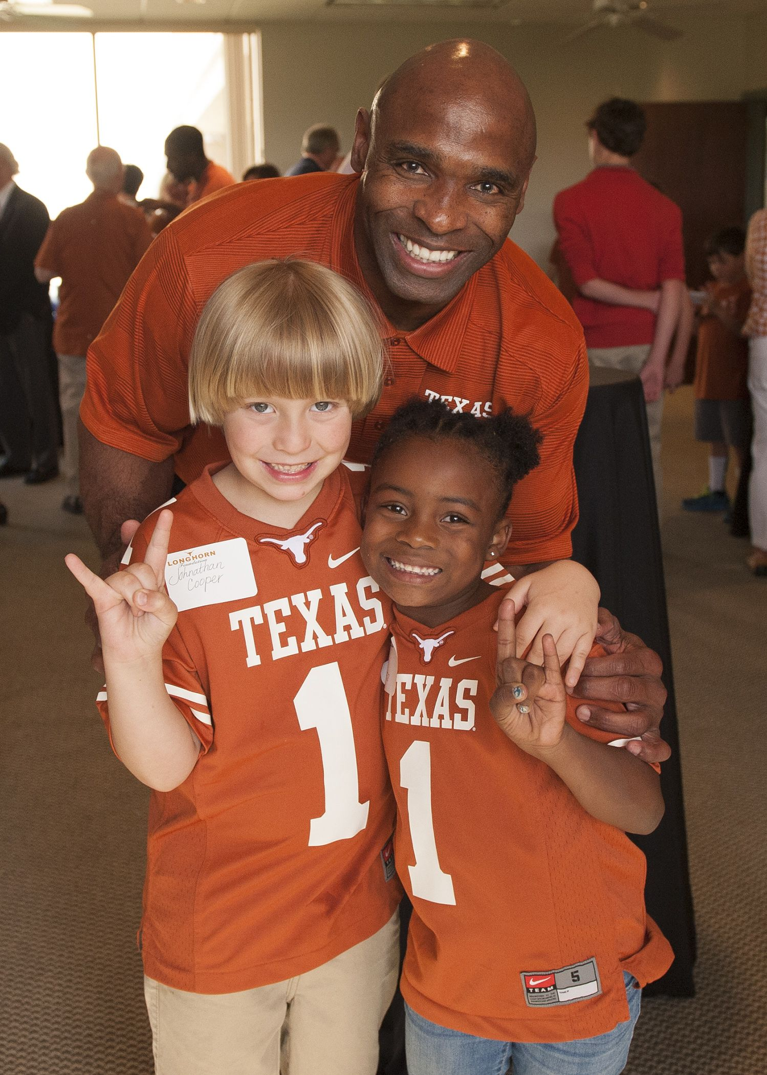 AMARILLO: Texas Football head coach Charlie Strong poses for a photo ...