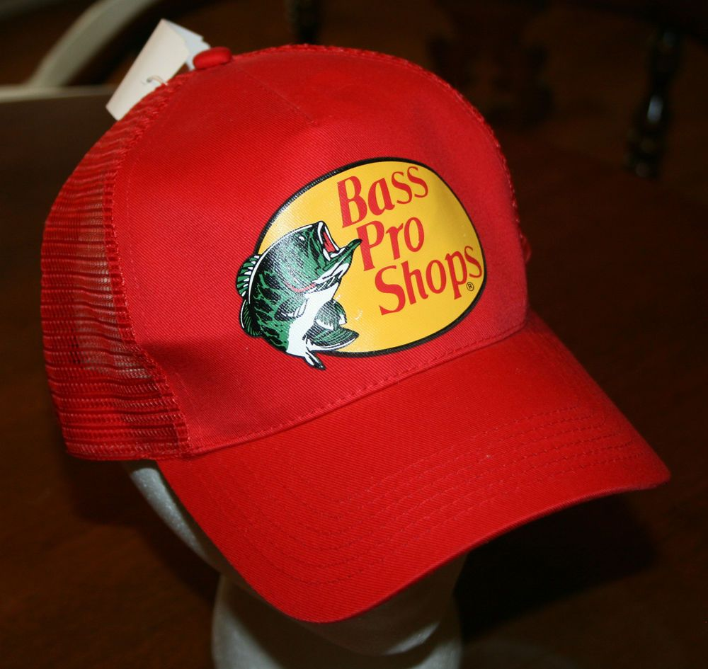 badf6d2ed36 New Bass Pro Shops Fishing hunting Snapback Cap Hat Youth One Size Fits All   BassProShops  Trucker