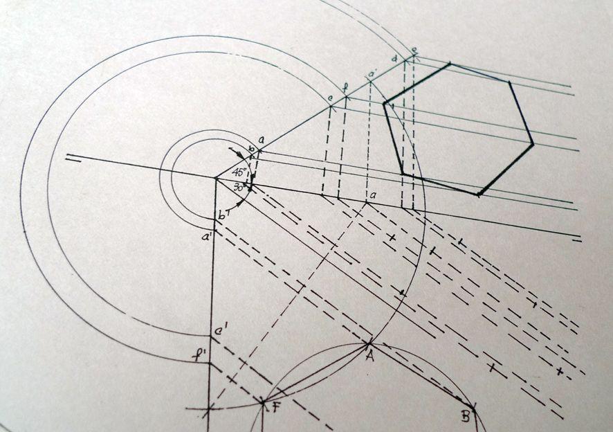 Dibujo Tecnico Geometric Drawing Technical Drawing Geometry