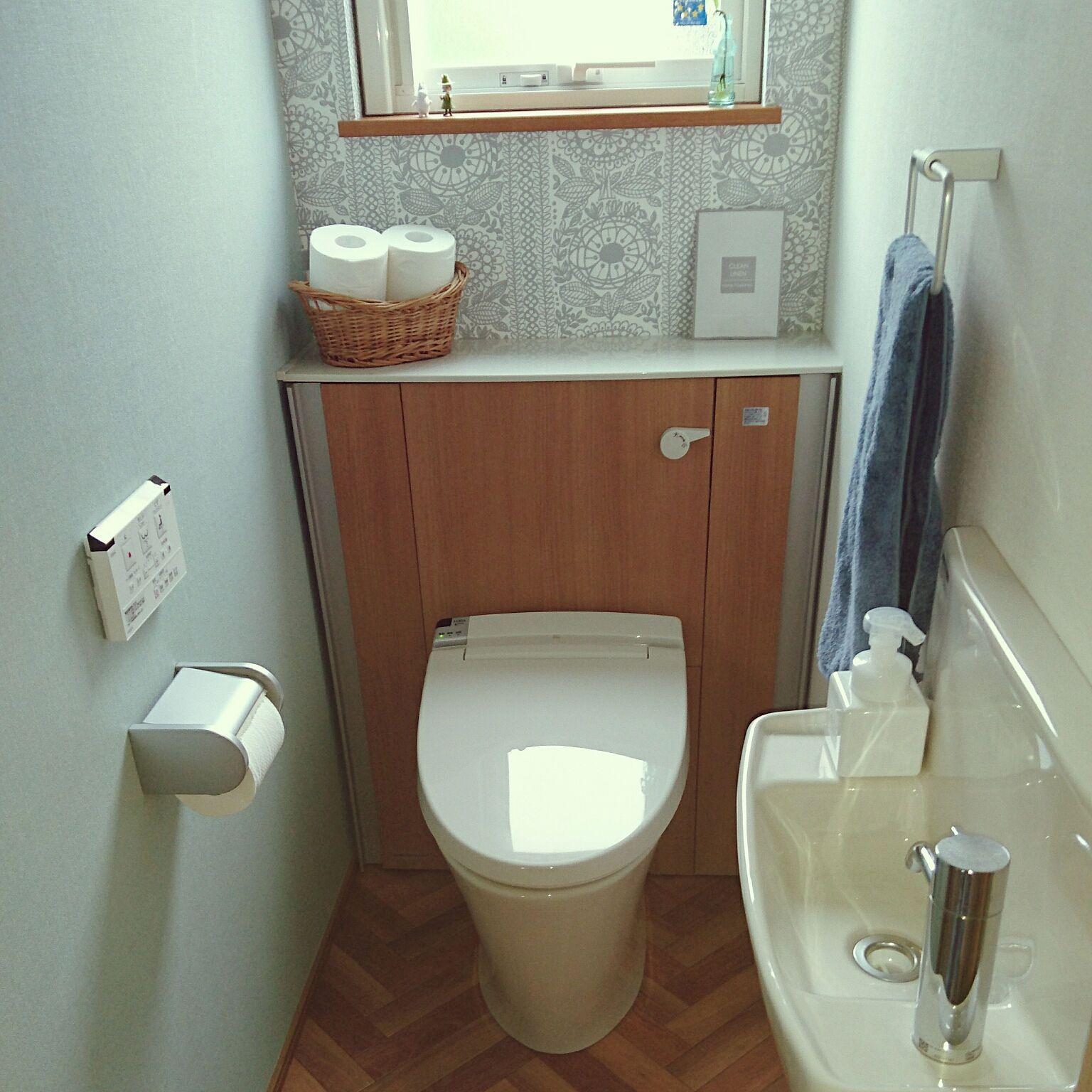 バス トイレ タイミ クリエラスク Lixilトイレ フィンレイソン などのインテリア実例 2018 06 09 08 45 02 Roomclip ルームクリップ Lixil トイレ トイレのアイデア トイレのデザイン