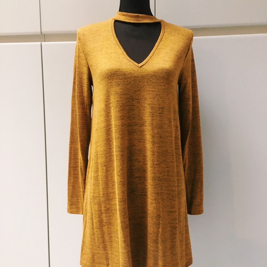 Long sleeve front cutout dress products