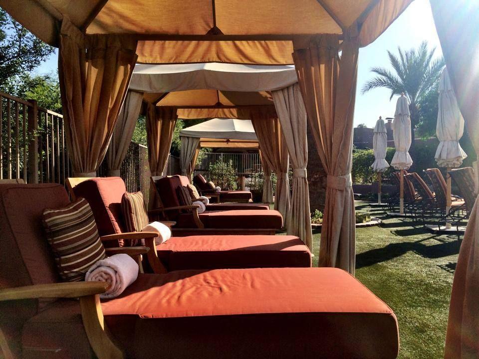 Poolside Cabanashermosa Innparadise Valley Az Scottsdale S Best