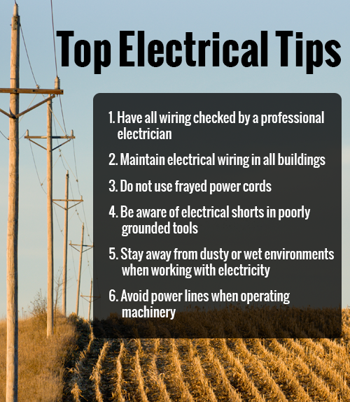 Electrical Safety Tips Electrician Electricity Tips