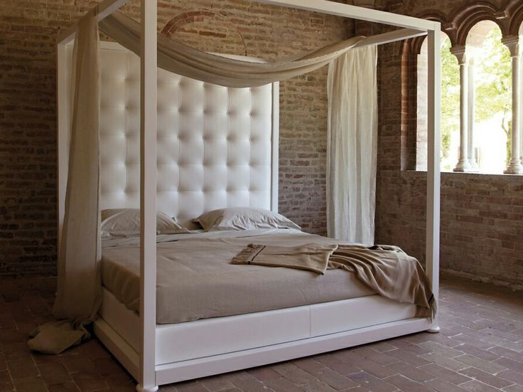 Tufted Headboard canopy bed | CANOPY BED GINEVRA BY VALDICHIENTI | DESIGN ... | & Tufted Headboard canopy bed | CANOPY BED GINEVRA BY VALDICHIENTI ...