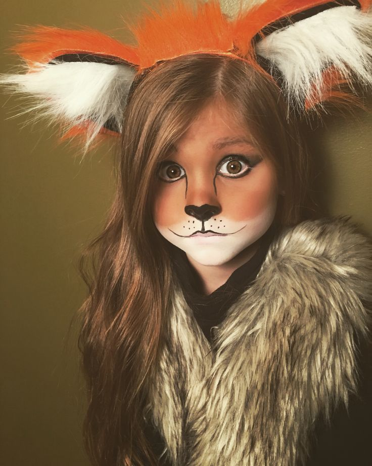 Makeup Ideas makeup for little girls pics : Cute and easy little girl fox Halloween makeup | makeup ...