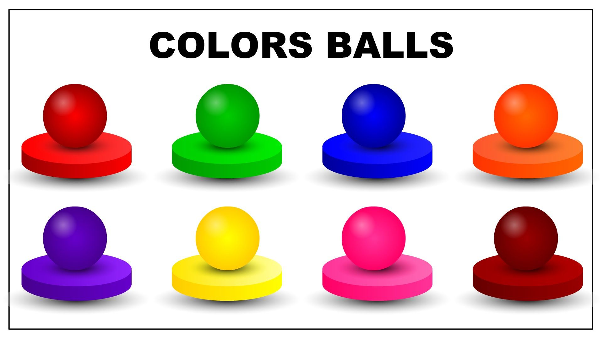 Colors for Children to Learn with Candy Balls | Colours for ...