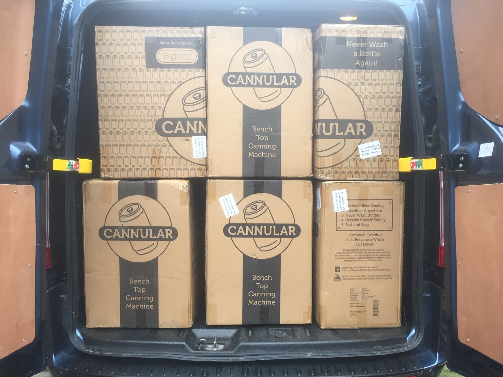 Cannular Can Seamer Upgrade Home Brewing Equipment Canning All Grain Brewing