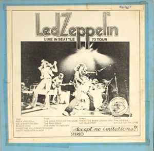 TMOQ: Led Zeppelin - 'Live In Seattle 73 Tour' 2 LPs