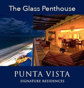 The Glass Penthouse at PVSR - Playa Punta de Mita,, Riviera Nayarit, Mexico