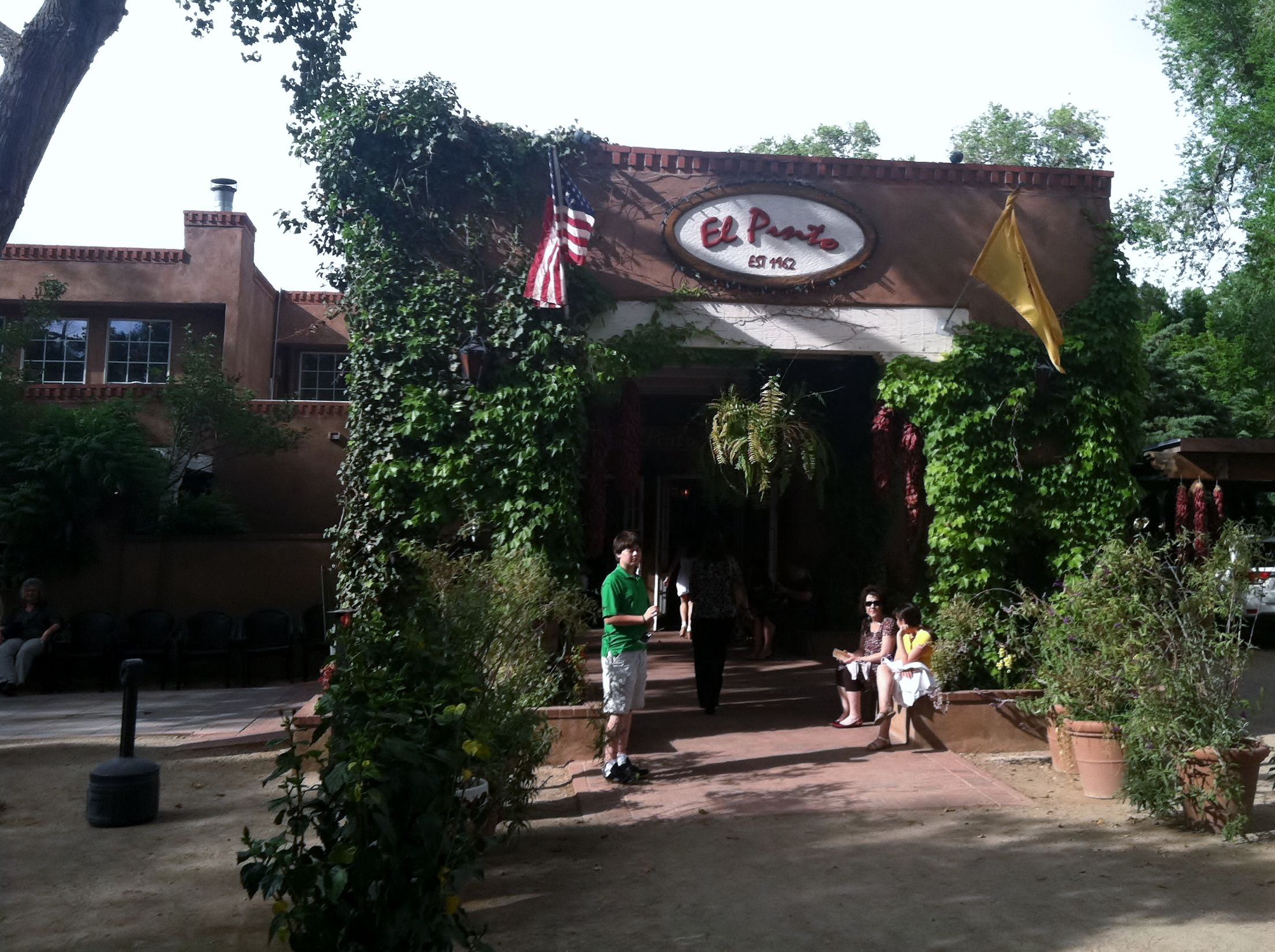 El Patio   Albuquerque, NM   One Of The Largest Mexican Restaurants I Have  Been